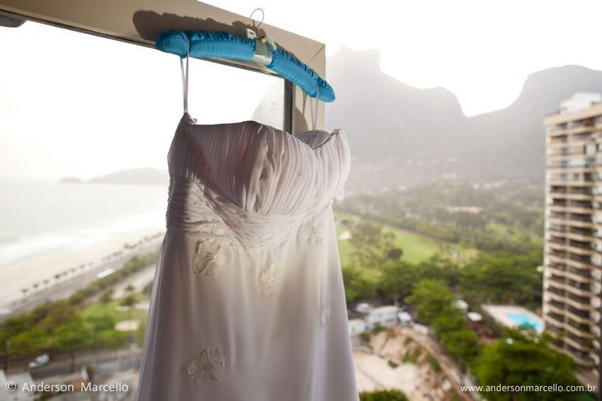 Anderson Marcello, Fotógrafo Casamento Rio de Janeiro, Hotel Intercontinental, São Conrado, Vestido de Noiva