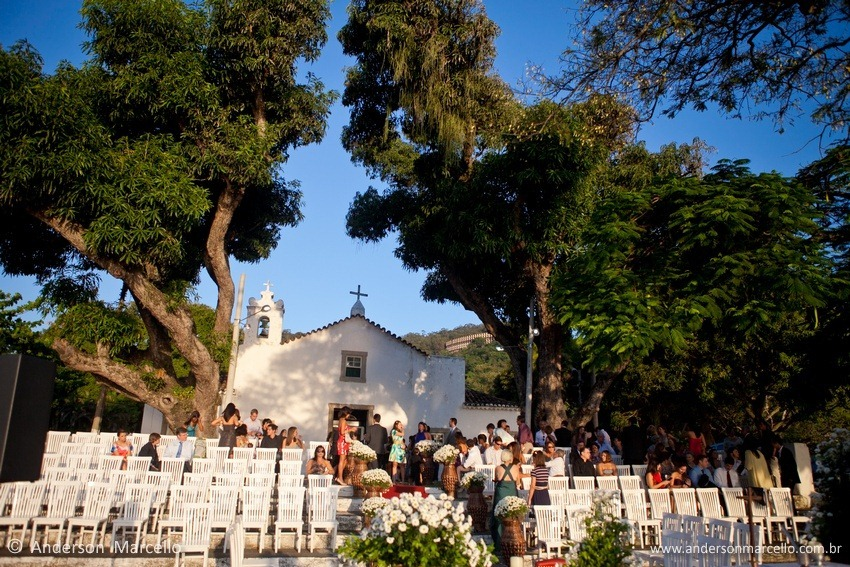 Anderson Marcello foto casamento decoração igrejinha  igreja sao francisco xavier niteroi