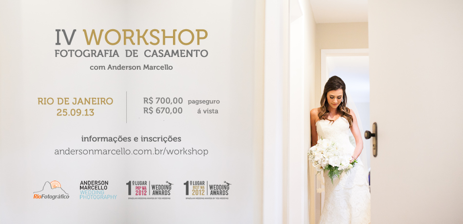 IV Workshop Fotografia de Casamentos 2013